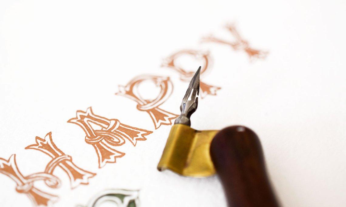 ручка для каллиграфия