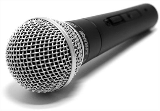эстрадный микрофон