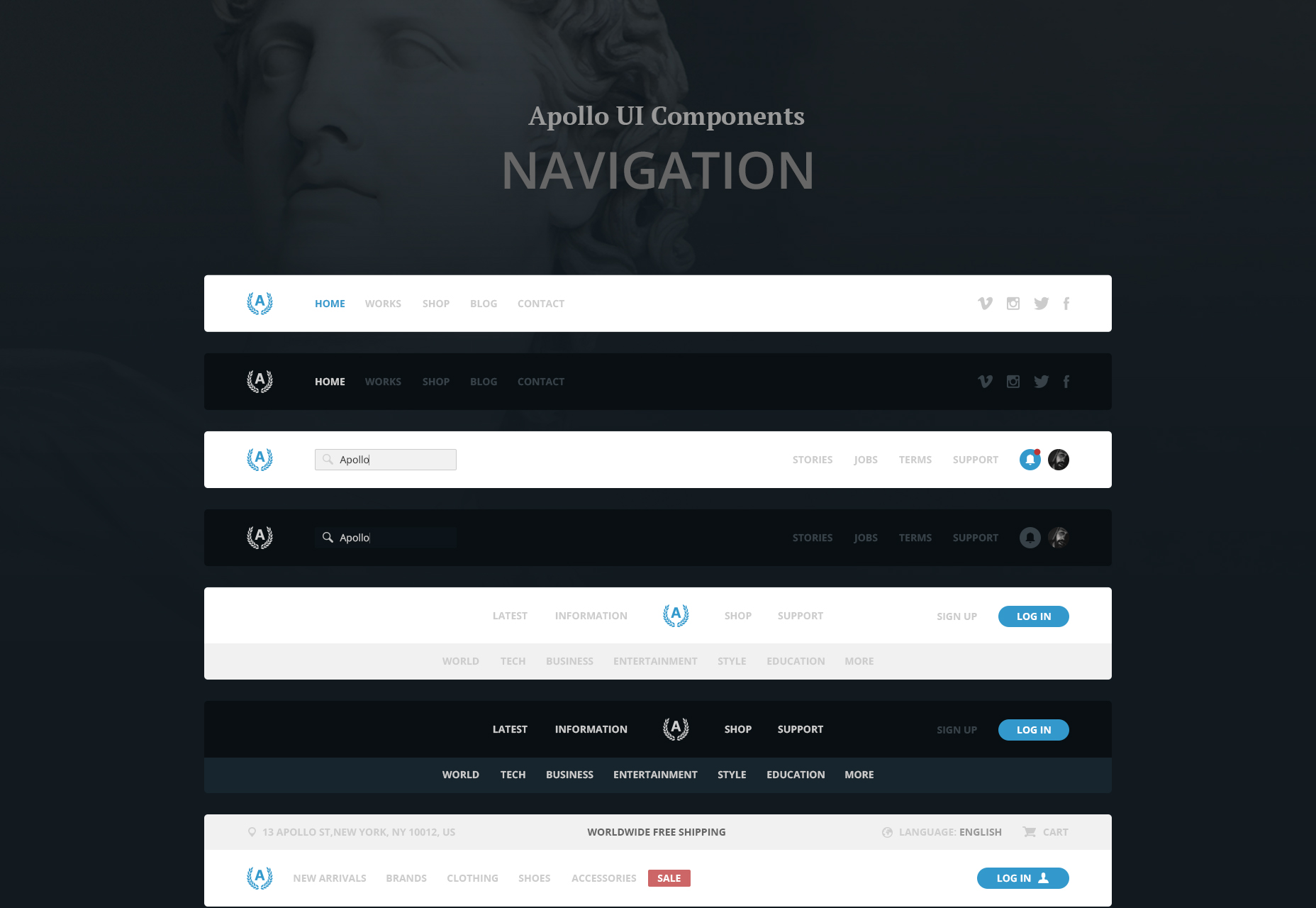 apollo-psd-sketch-ui-navigation-bar-kit