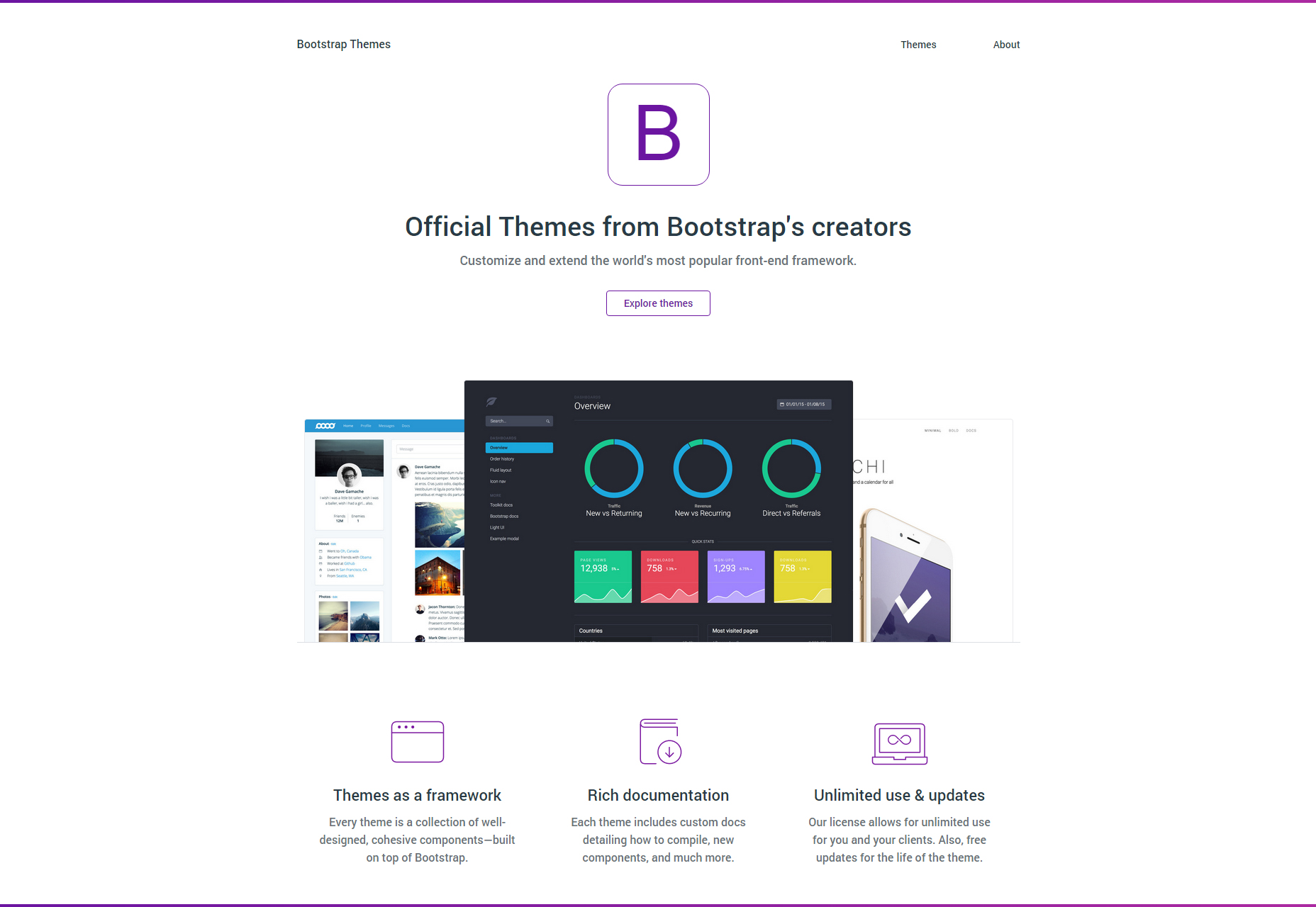 bootstrap-theme-frameworks-set