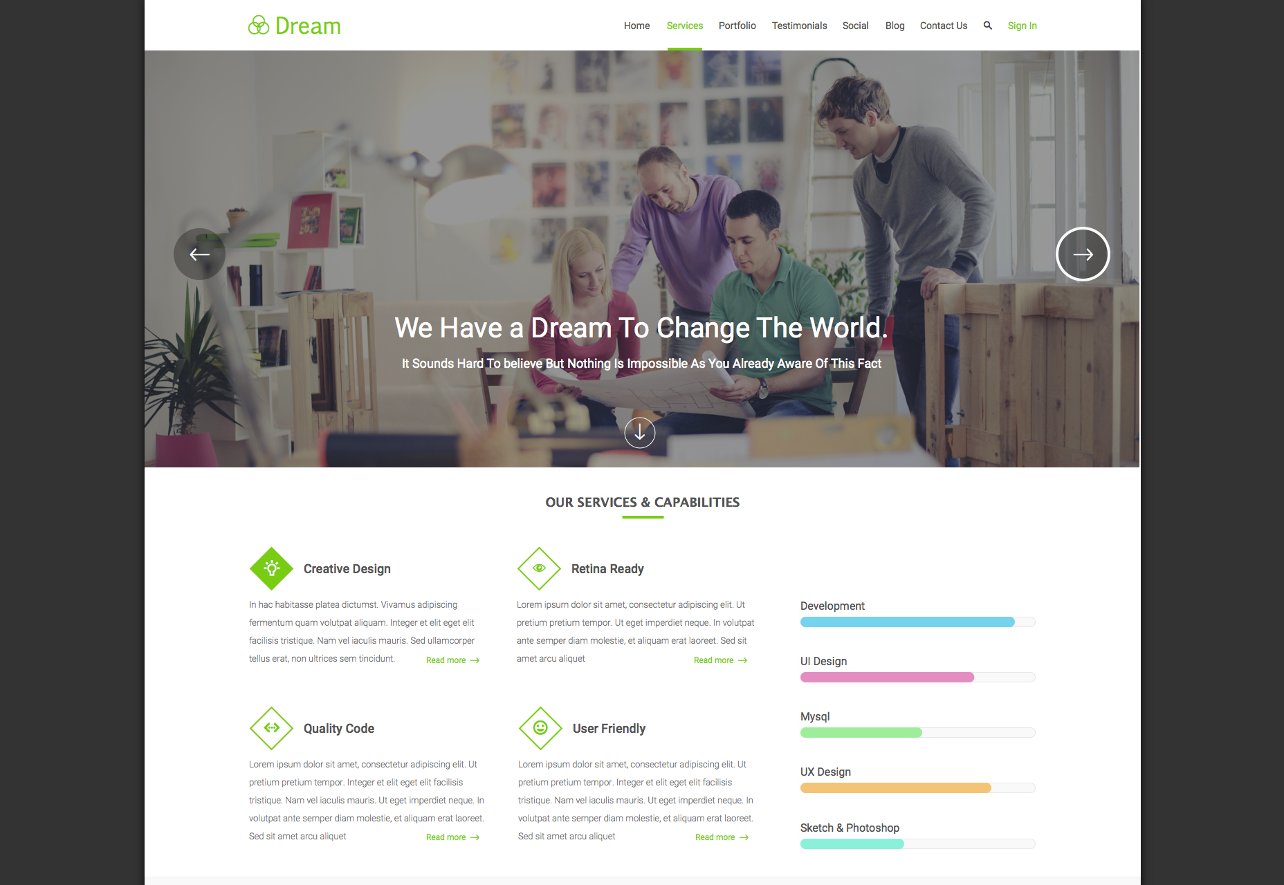 dream-clean-single-column-landing-page-template-