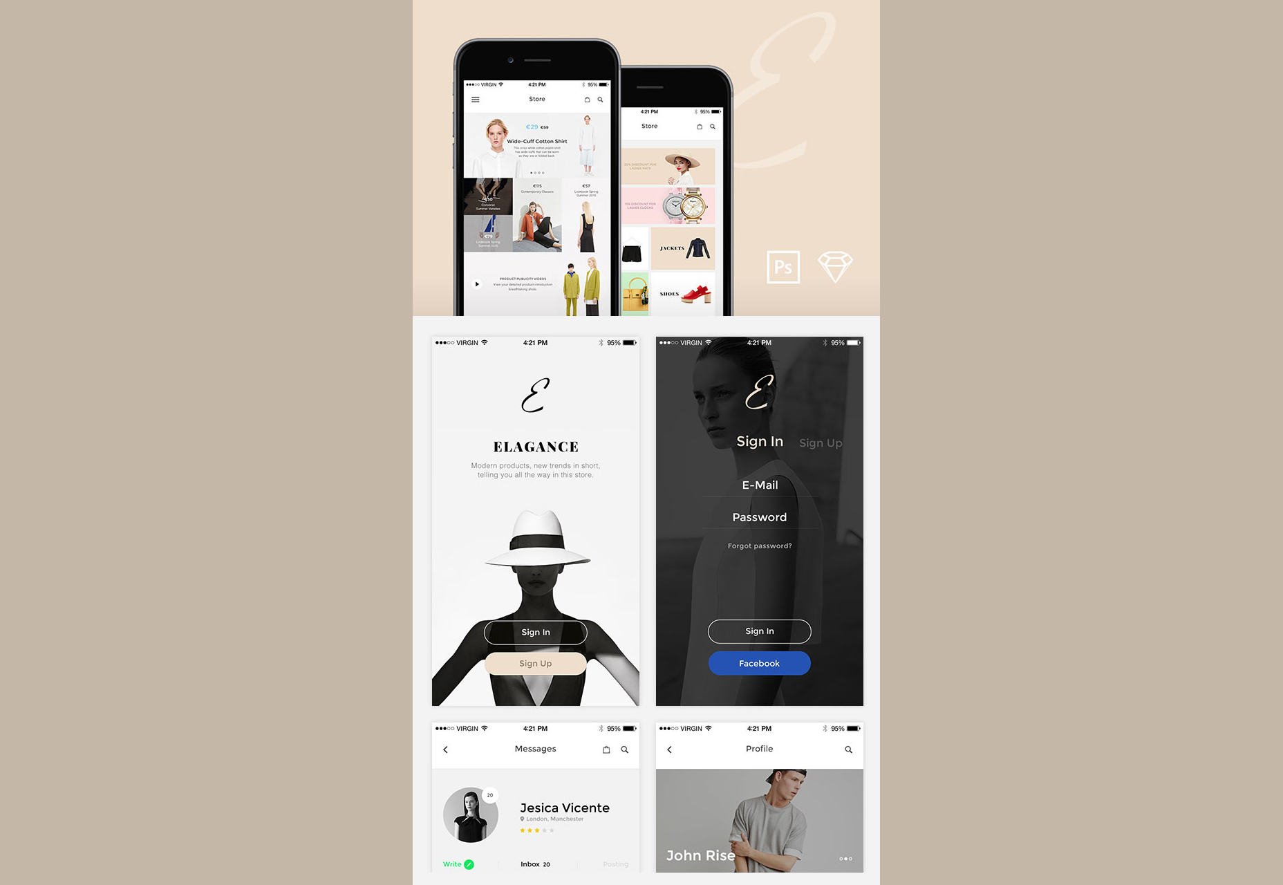 elegance-soft-fashion-schemed-ios-ui-kit-