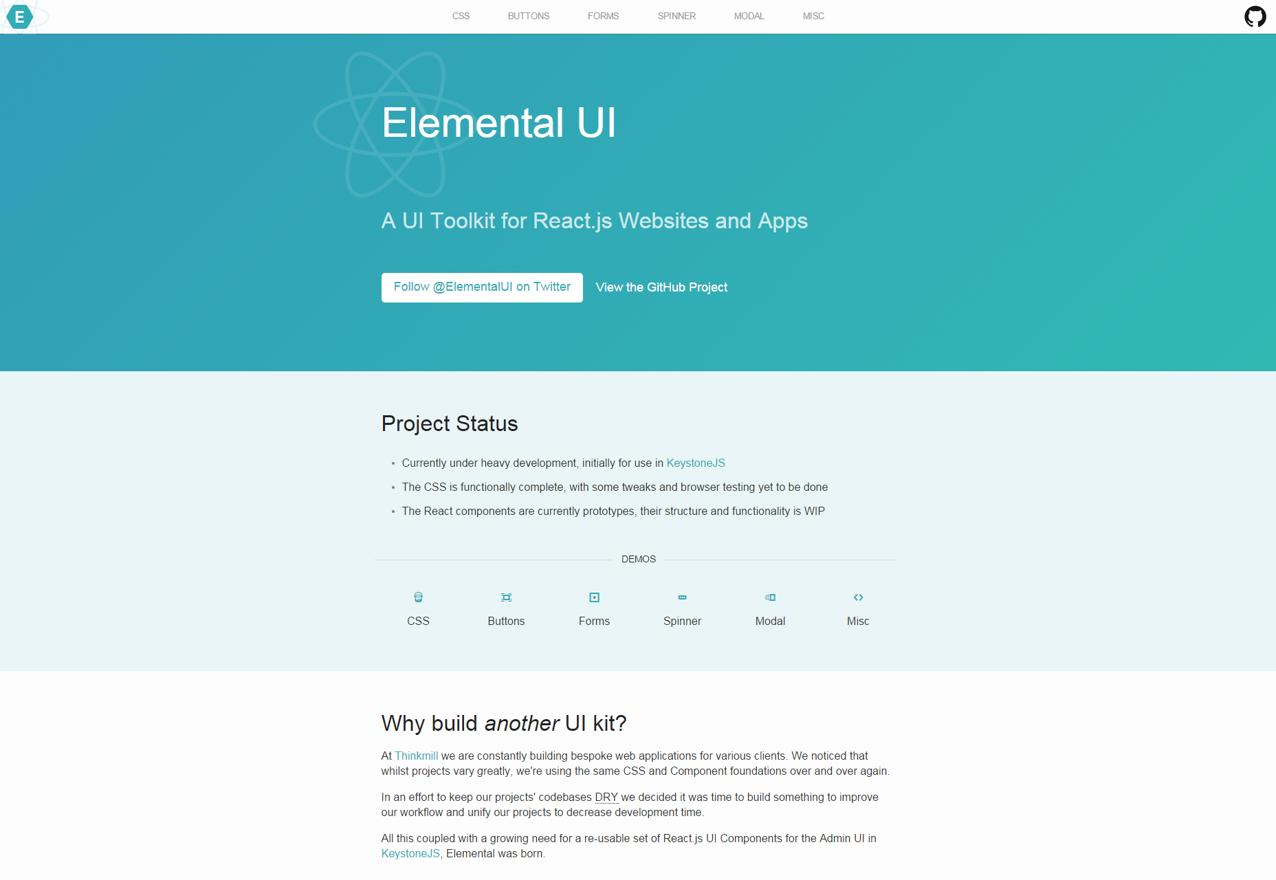 elemental-reactjs-focused-ui-toolkit