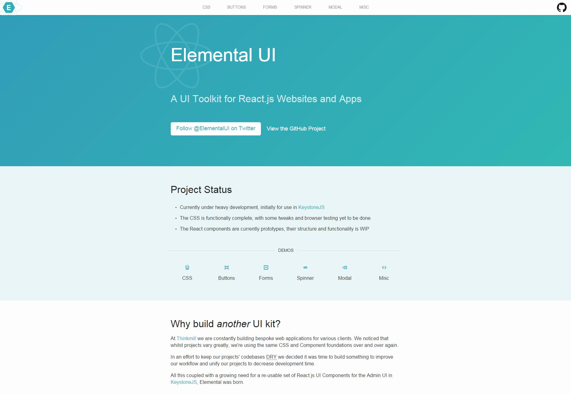 elemental-reactjs-focused-ui-toolkit
