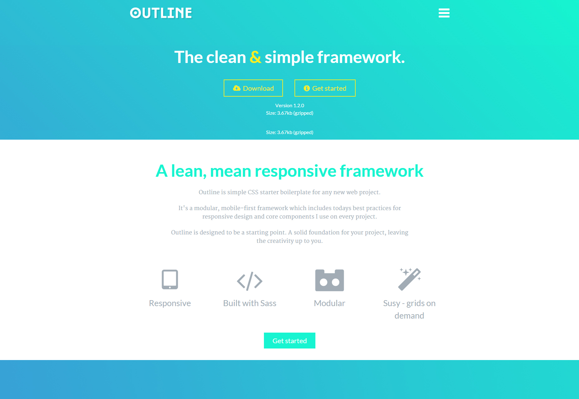 outline-the-clean-simple-responsive-css-framework