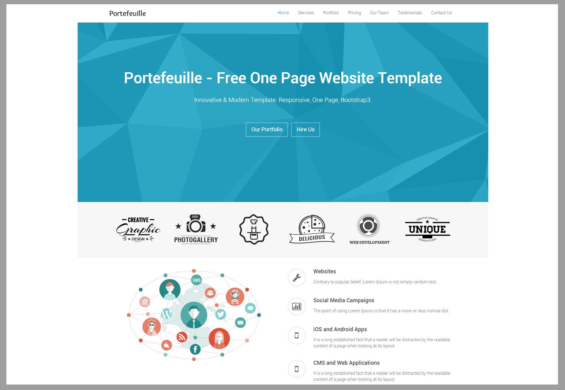 portefeuille-one-page-portfolio-html-theme