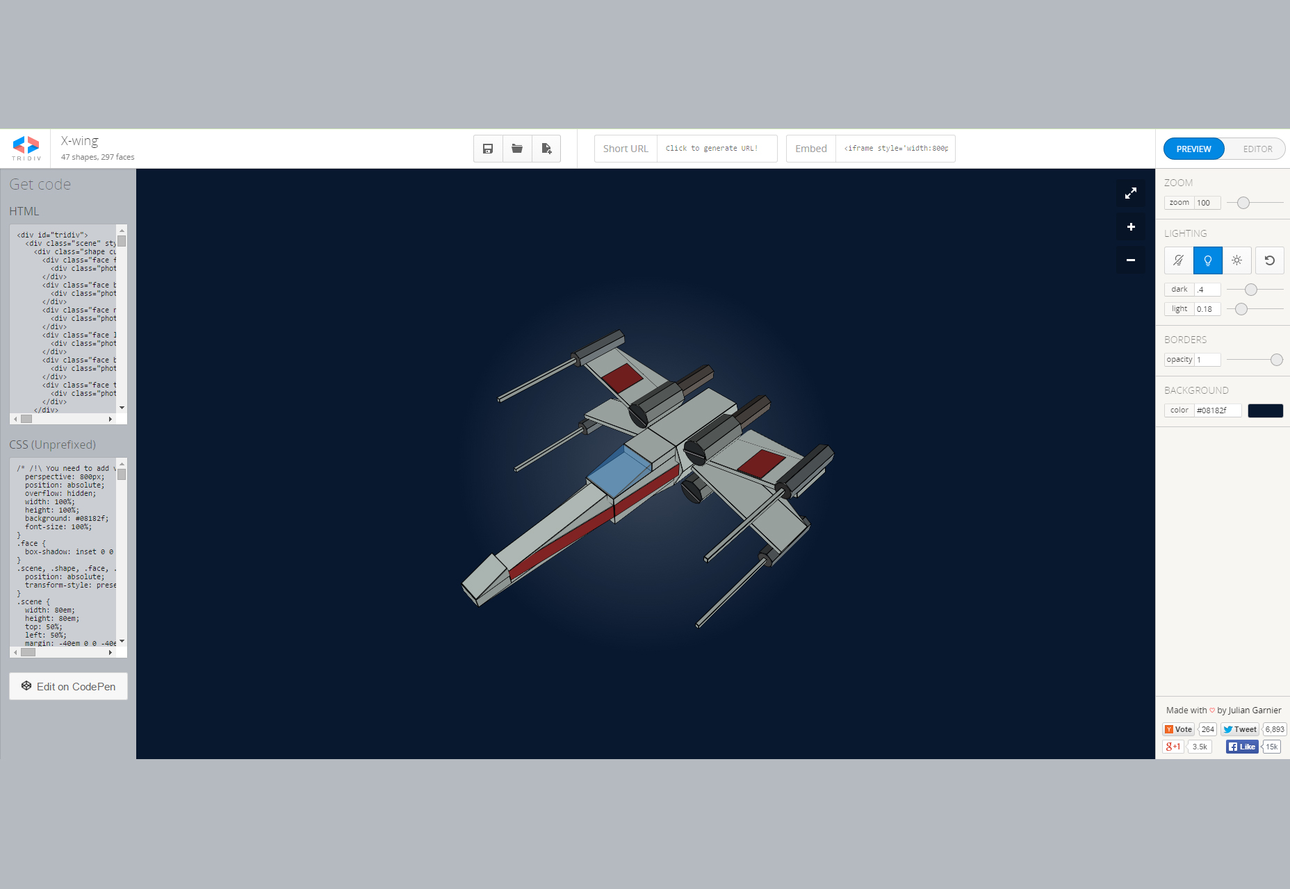 tridiv-online-css-3d-shapes-editor