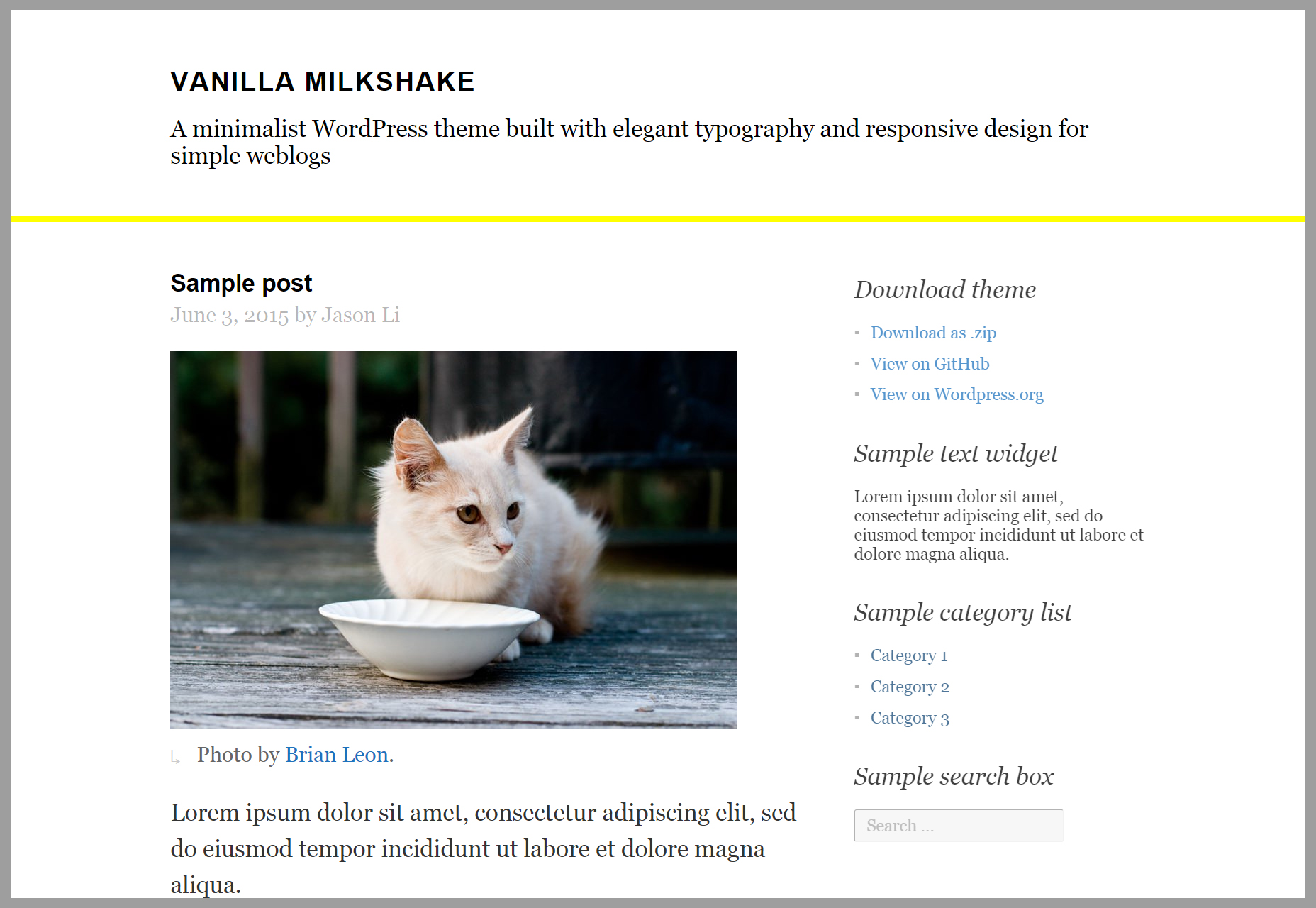 vanilla-milkshake-simple-blogging-wordpress-theme