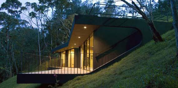 Экологический дом в Колумбии