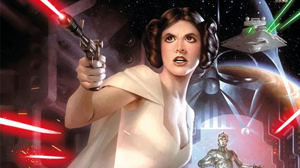 Как нарисовать классическую иллюстрацию Звездных Войн
