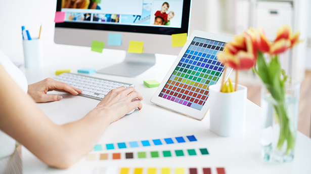 5 основных цветов в веб-дизайне