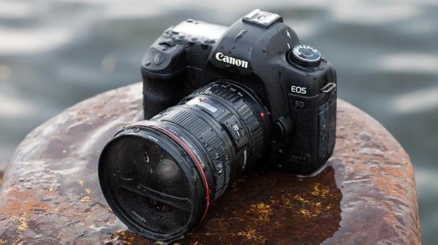 Что делать, если вы утопили фотоаппарат
