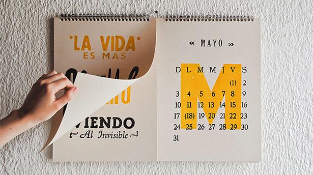 50 невероятно красивых календарей на 2016 год