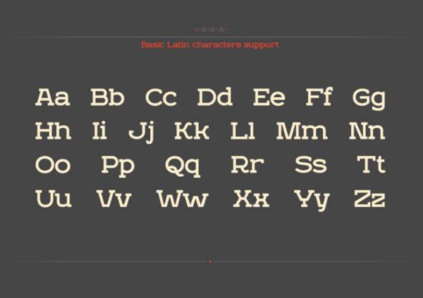 Интересный шрифт