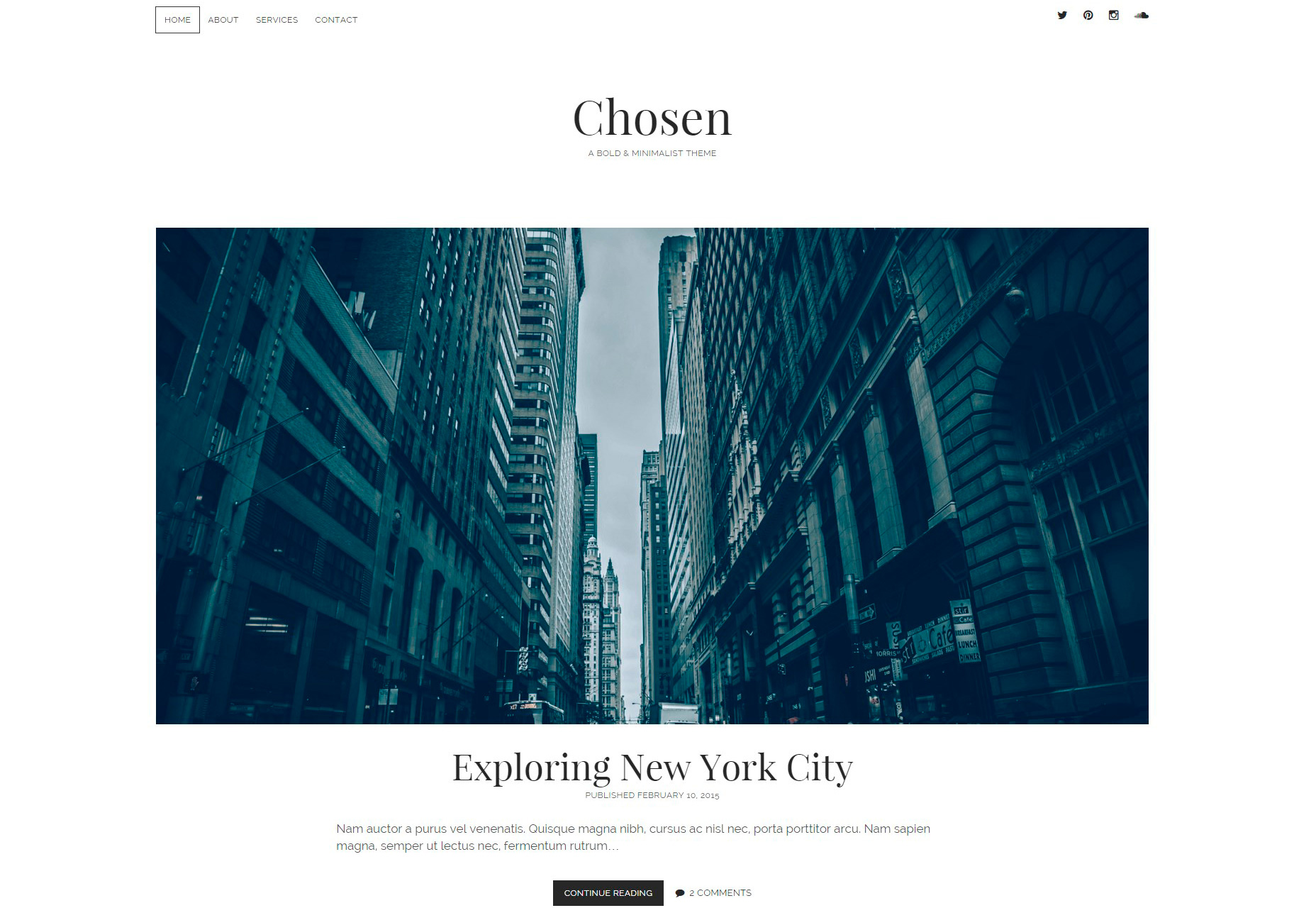 chosen-minimal-blogging-wordpress-theme