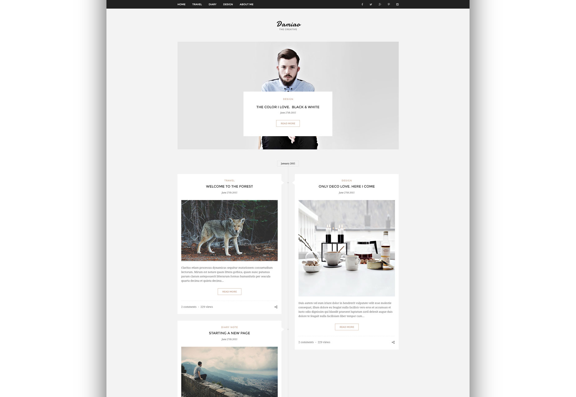 damiao-clean-and-minimal-multi-layout-psd-template