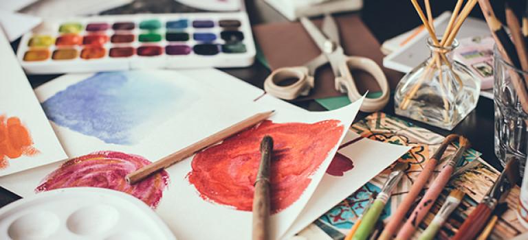 Как создать атмосферу творческой студии дома