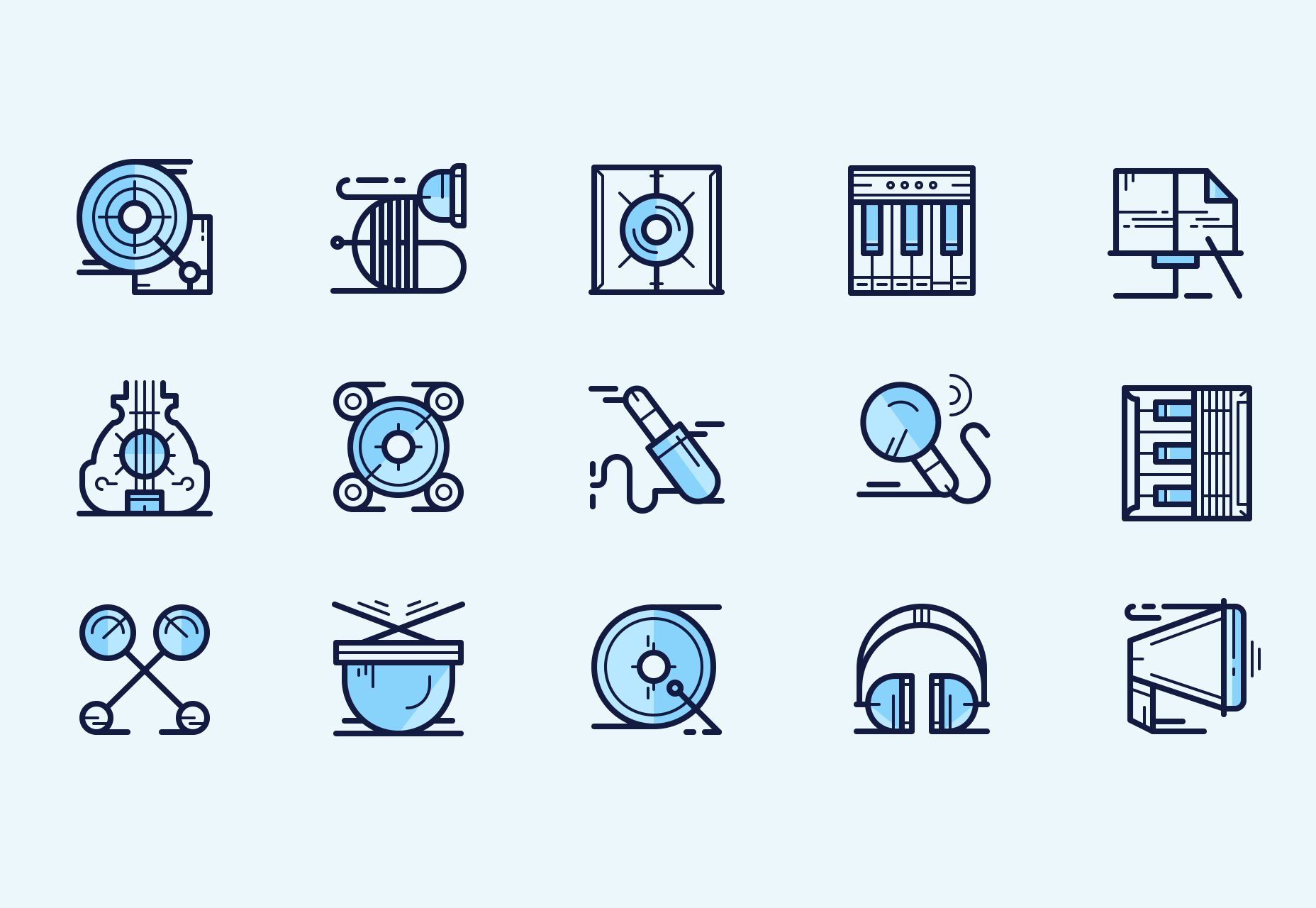 music-icons-multi-weight-line-style-icons