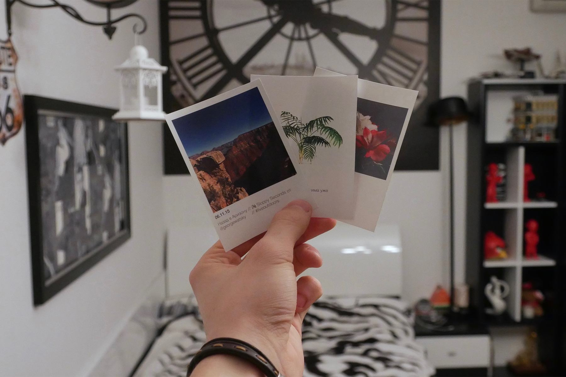 Как сделать на фото эффект полароида