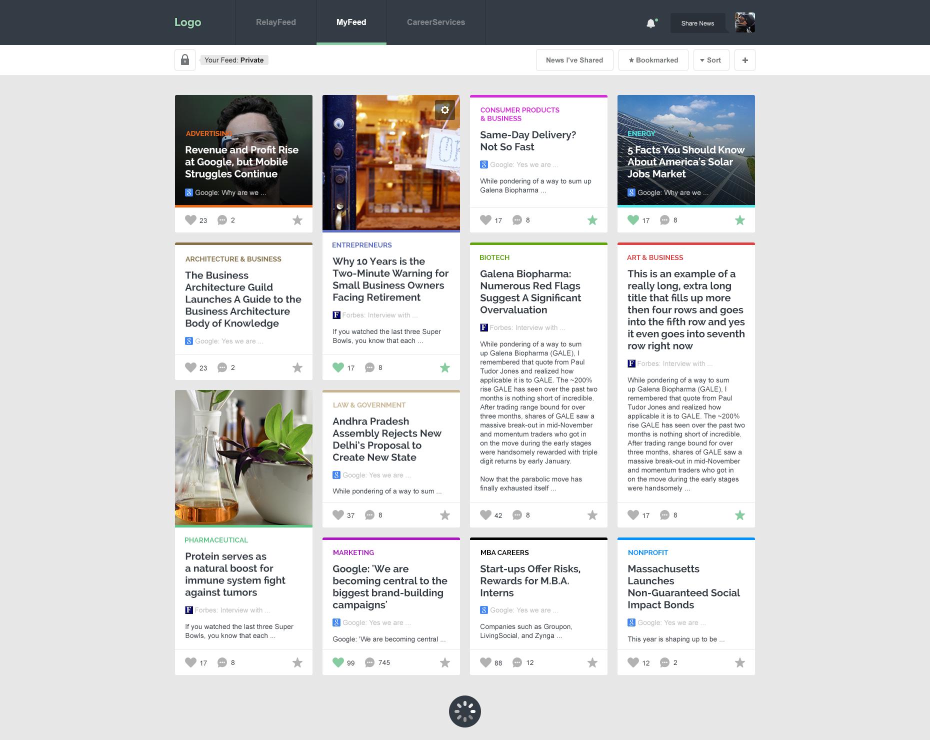 Free Newsfeed App by Edi Gil