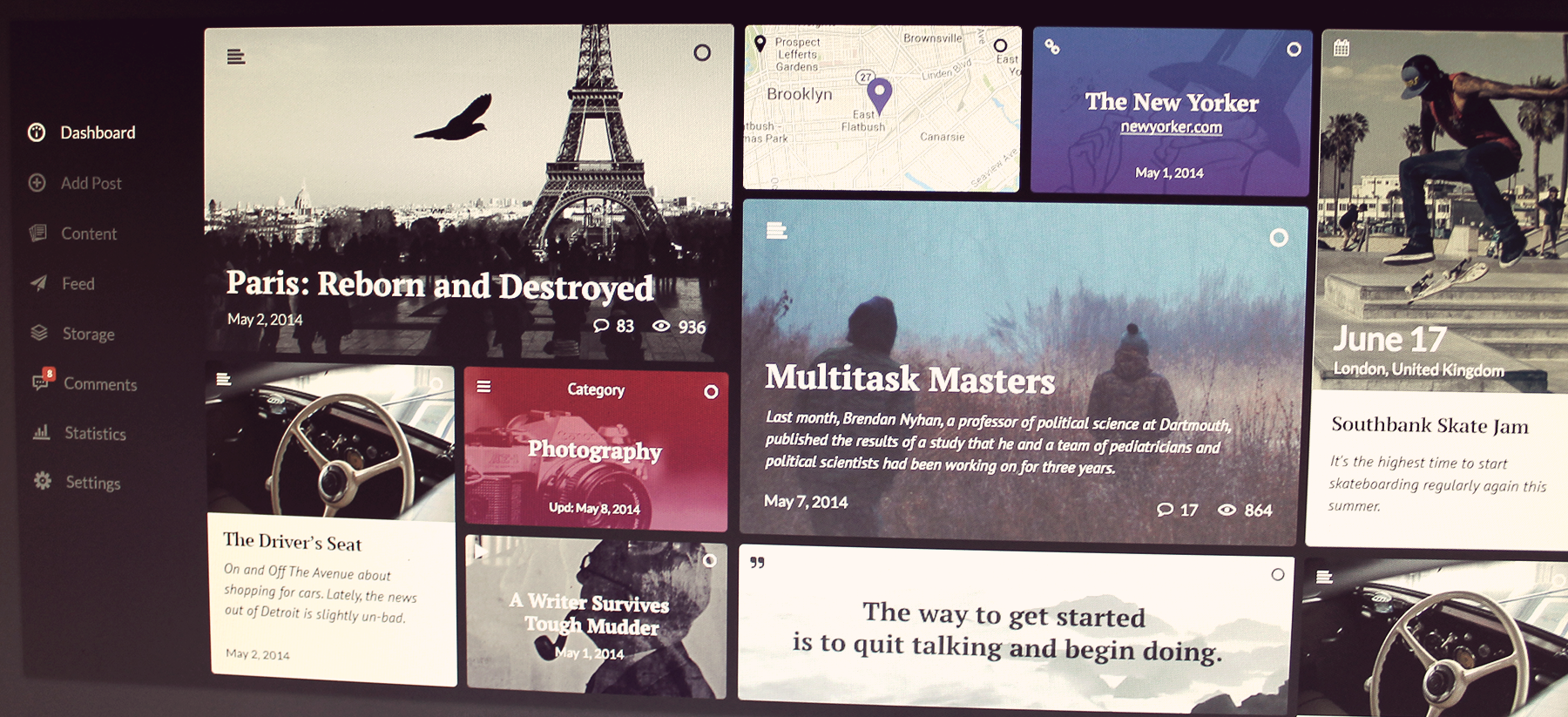 Ink- WordPress Content by Kyril Ku