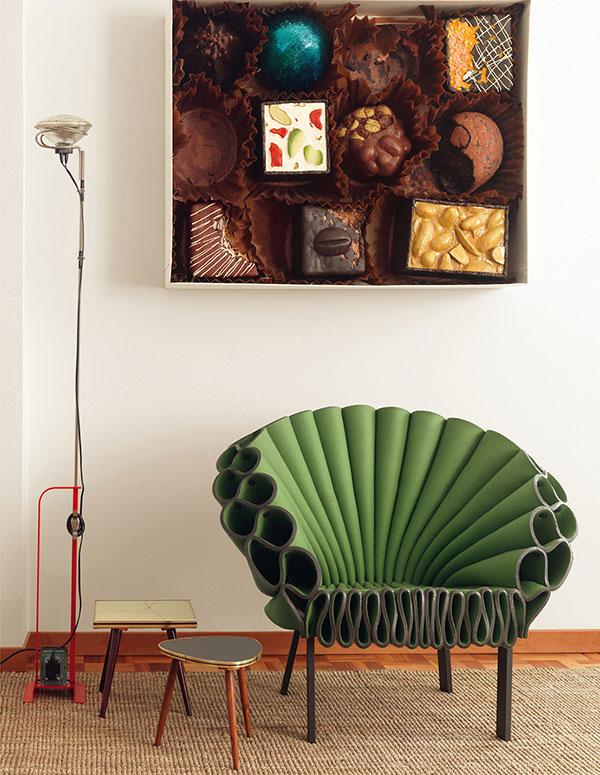 Павлиний стул от Dror для фирмы Cappellini