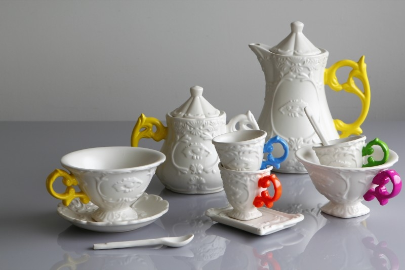 Дизайнерская посуда бренда Seletti