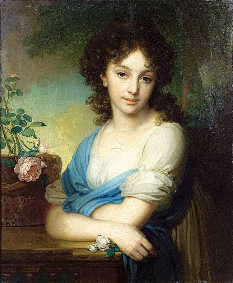 Портрет работы Боровиковского