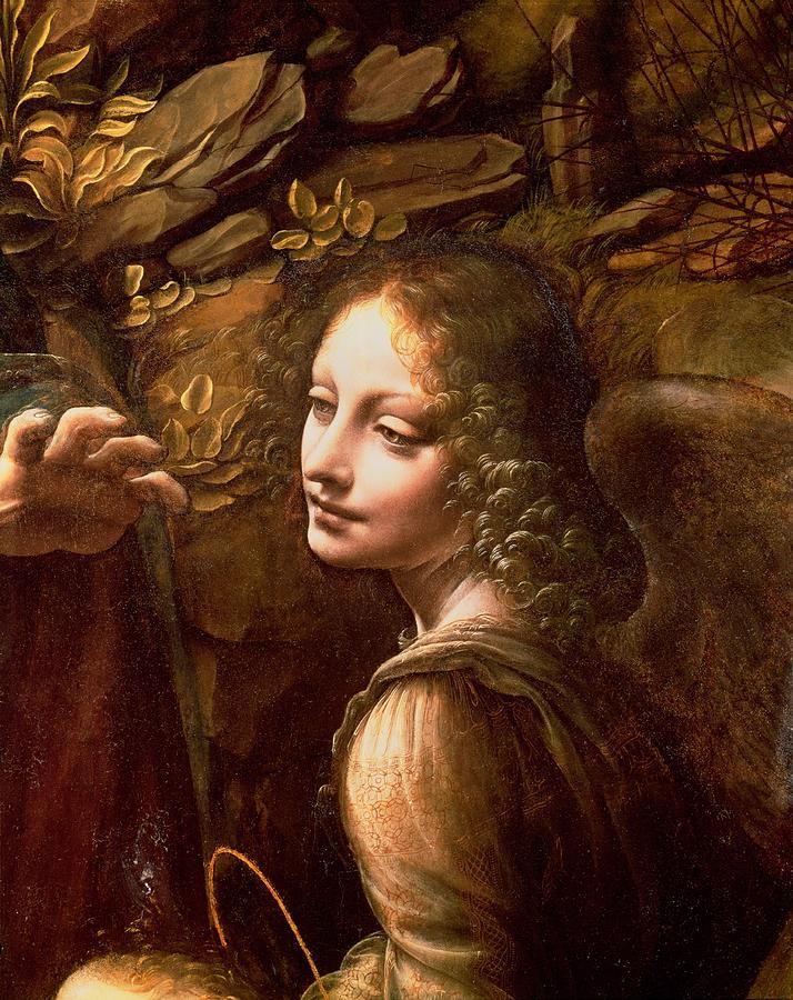 Деталь картины Леонардо да Винчи