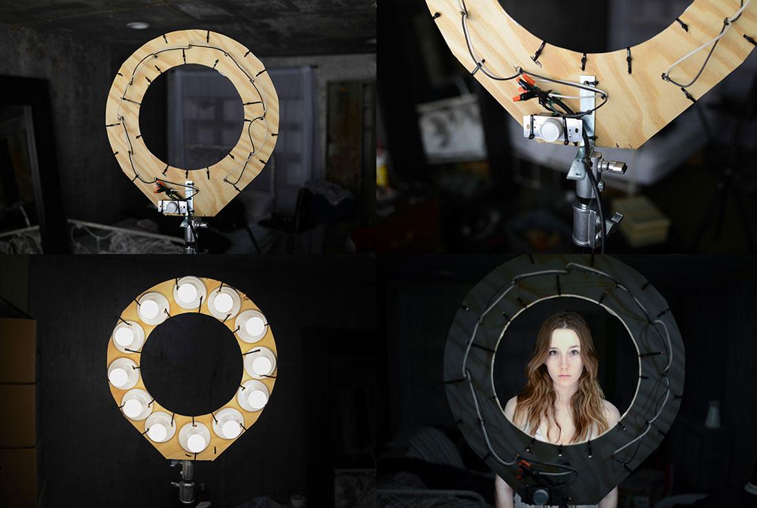 Как самому сделать круговой свет для фото