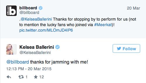 Billboard & Kelsea Ballerini