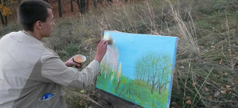 Интервью с художником Алексеем Зиминым
