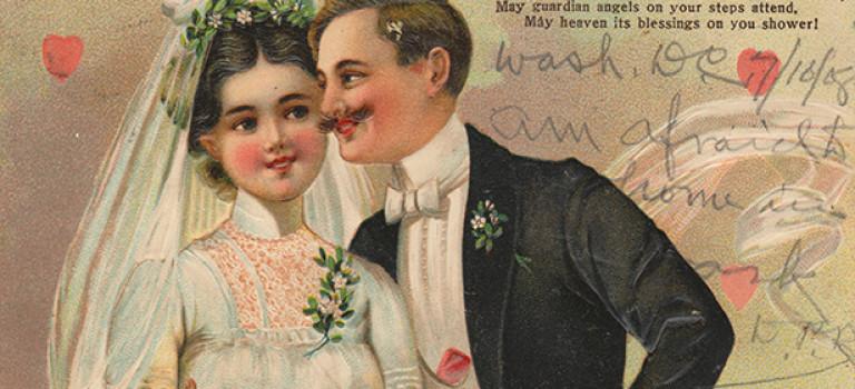 Старинные открытки— окно в прошлое