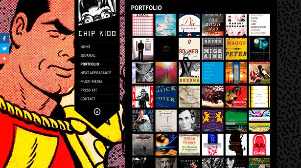 10 знаменитых дизайнерских портфолио у которых есть чему поучится