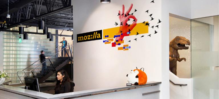Mozilla полностью поменяли дизайн своего бренда