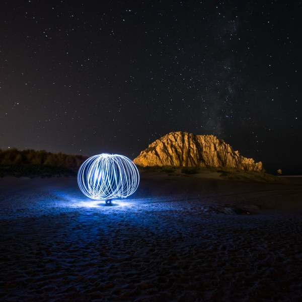 Light Painting Demonstration