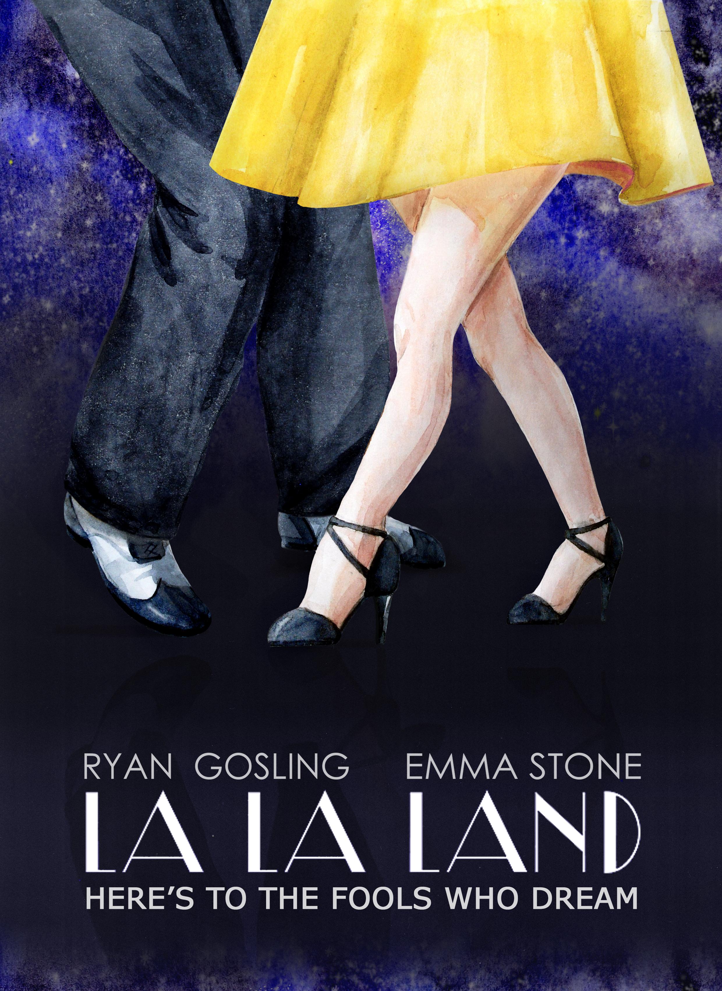 Anastasia Lembrik La la land poster