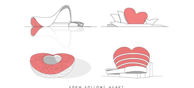 Как архитекторы отмечают День Святого Валентина