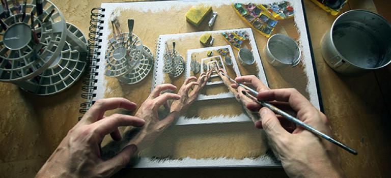 Живопись: как эффективно применять технику лессировки
