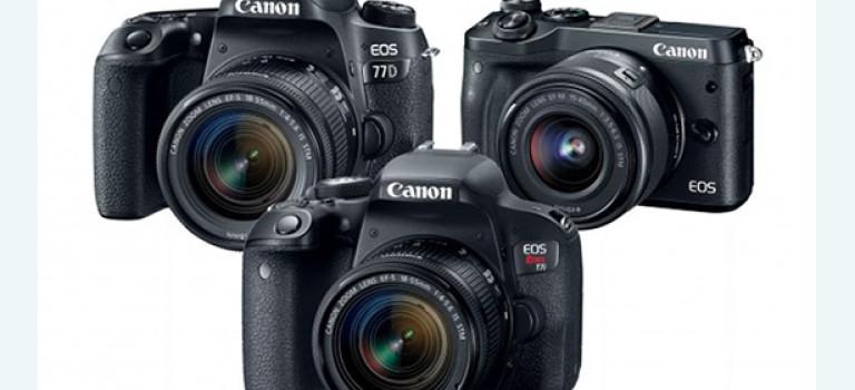 3 новинки от Canon: 4K видео не появилось