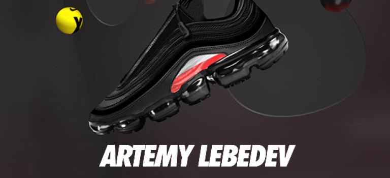 Артемий Лебедев представил кроссовки для Nike