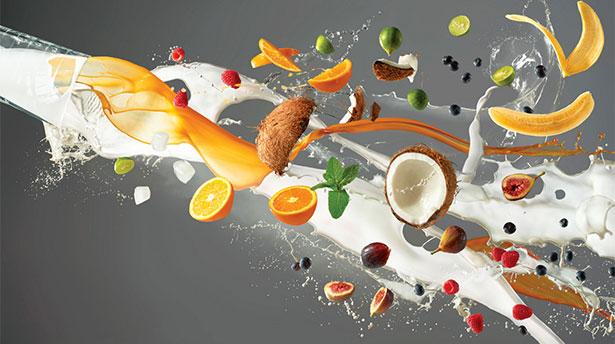 Как сфотографировать летящую еду? [Видео]