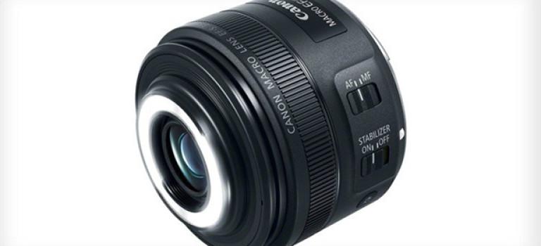 Canon выпустили новый объектив для макросъемки