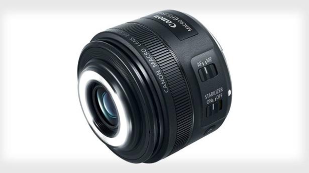 Новый объектив от Canon