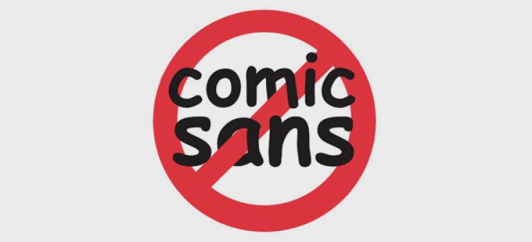 Тест: так ли сильно ты ненавидишь Comic Sans?