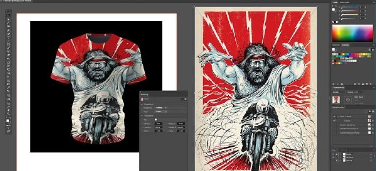 Maxon представил новый 3D-плагин для Adobe Illustrator
