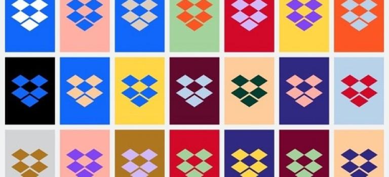 Dropbox представил новый яркий дизайн