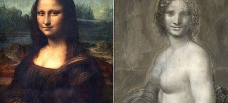 Во Франции нашли эскиз «обнаженной Моны Лизы»