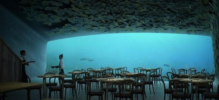 Необычная архитектура: в Норвегии откроют подводный ресторан
