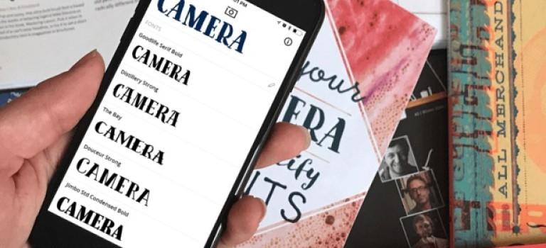 Мечта дизайнера: появилось приложение, которое распознаёт шрифт